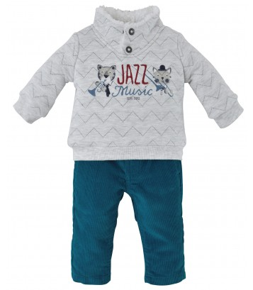 "PANTALON + SWEATSHIRT ""JAZZ MUSIC"" Sucre Orge"
