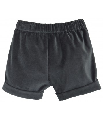 SHORT FILLE ANTHRACITE Sucre Orge