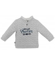"SWEAT SHIRT GARCON GRIS ""SAILOR"" Sucre Orge"