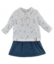 JUPE + T-SHIRT BEBE Sucre Orge
