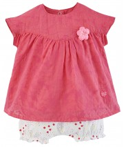 ENSEMBLE BEBE FILLE ROBE + BLOOMER Sucre Orge