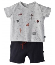 TEE SHIRT SHORT ALESSANDRO Sucre Orge