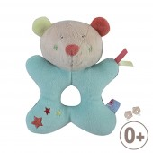 HOCHET PELUCHE OURS