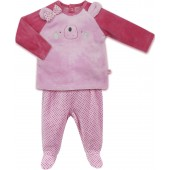 PYJAMA 2 PIECES FILLE SUCRE D'ORGE