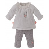 ENSEMBLE TUNIQUE + LEGGING BÉBÉ