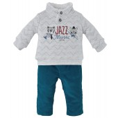 "PANTALON + SWEATSHIRT ""JAZZ MUSIC"""