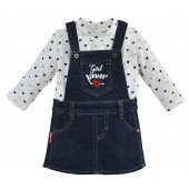 ROBE CHASUBLE JEAN + T-SHIRT