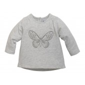 SWEAT BEBE FILLE GRIS