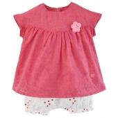 ENSEMBLE BEBE FILLE ROBE + BLOOMER