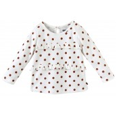 T SHIRT A POIS LOOK GIRLY