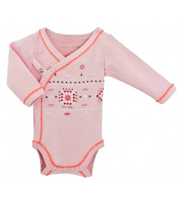 KIT NAISSANCE BEBE FILLE FOLKLORE BABY Sucre Orge