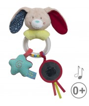 HOCHET LAPIN BEIGE Sucre Orge