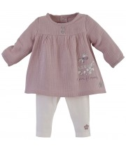 ENSEMBLE BEBE FILLE ROSE Sucre Orge
