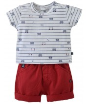TEE SHIRT SHORT ANDRY Sucre Orge