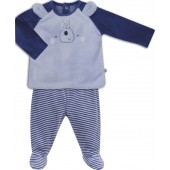 PYJAMA BEBE 2 PIECES BLEU