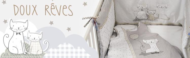 gigoteuse pour b b couvre lit collection doux r ves de sucre d orge. Black Bedroom Furniture Sets. Home Design Ideas