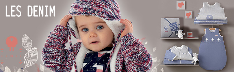 denim sucredorge, vêtement bleu, vetement bebe fille et vêtement bébé garçon