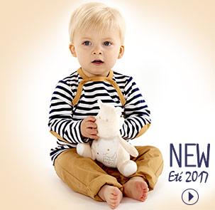 Vêtement bébé et enfant été 2017