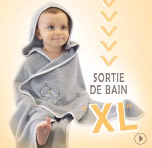 Sortie de bain XL Sucre dorge