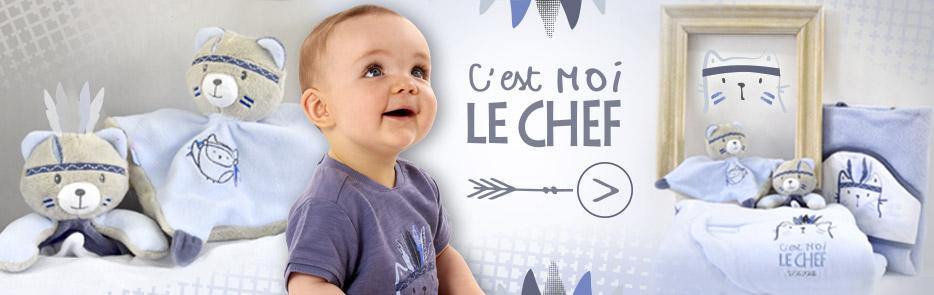 Vêtement bleu bébé et enfant été 2017
