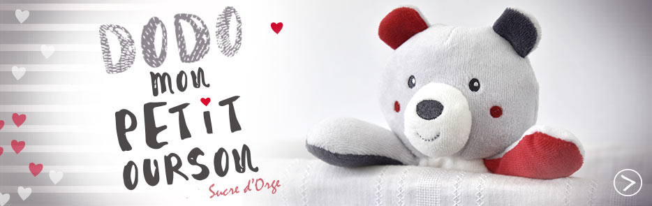 Collection dodo petit ours Sucre d'Orge