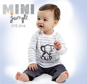 Vêtement bébé et enfant été 2018