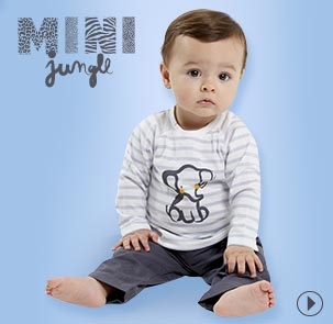 Collection vêtement bébé gris Sucre d'Orge