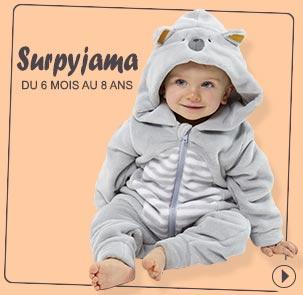 Surpyjama Sucre d'Orge