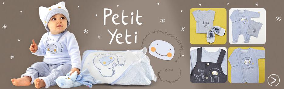 Collection Hiver 2018 - Petit yéti