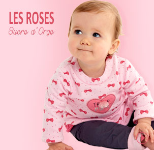 Collection les roses Sucre d'Orge