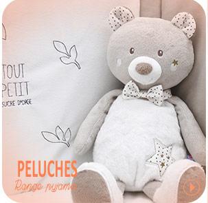 Peluche range pyjama Sucre d'Orge