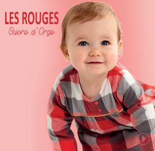 Collection les rouges Sucre d'Orge
