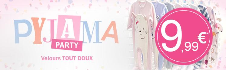 Pyjama party sucredorge, profitez-en