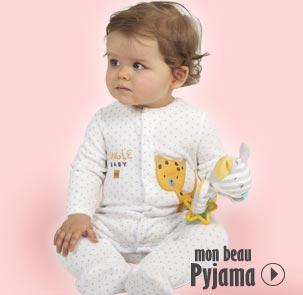 pyjama bébé fille, pyjama bébé garçon