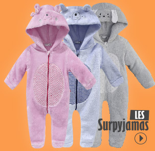 Collection Surpyjamas Sucre d'Orge