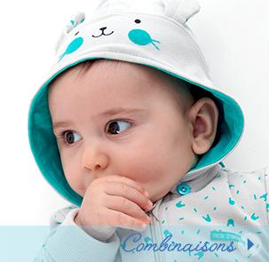 Combinaison bébé Sucre d'Orge
